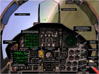 F 22 Cockpit Layout Fly By Wire Dot Com: F-15C Eagle Cockpit Layout