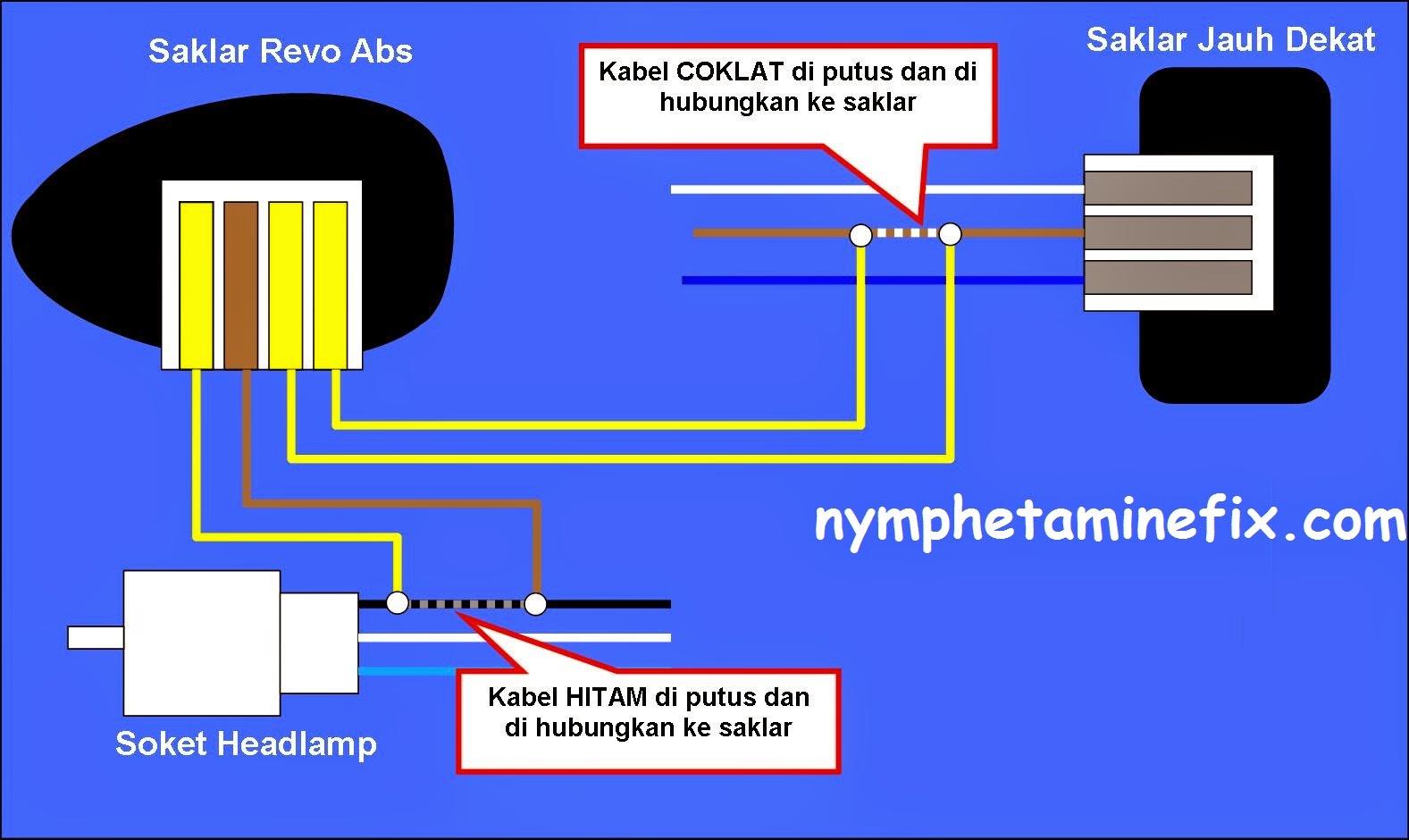 Nymphetamine Fix  Pasang Saklar    Lampu    Utama di Vario 125