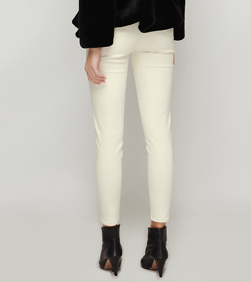 Eyelet Stretchy Skinny Pants
