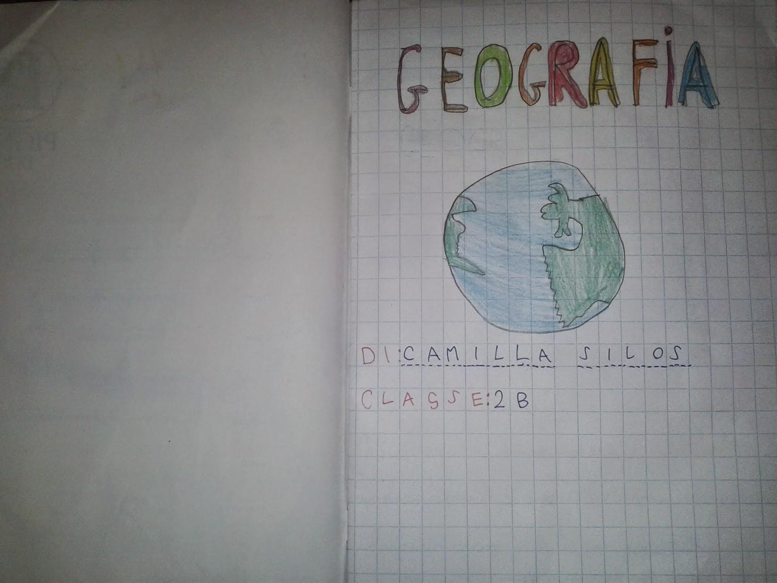 Ben noto LA MAESTRA MARIA TI SALUTA: Quaderno di geografia classe 2^ a.s.  XH13
