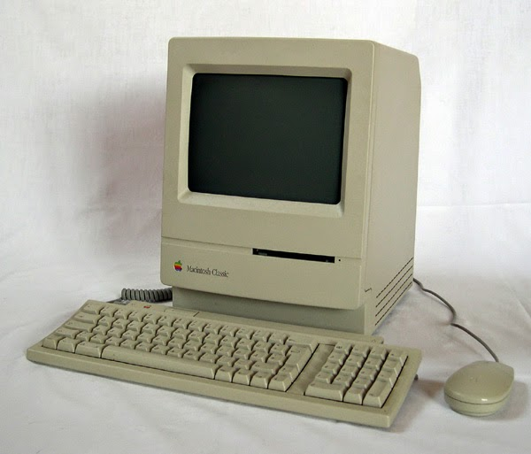 It's an old Mac computer.