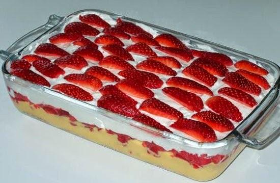 Torta Morango Gelada Torta Gelada de Morango