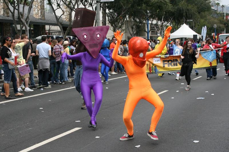 Hollywood Fringe Weir LA Pride Parade 2011