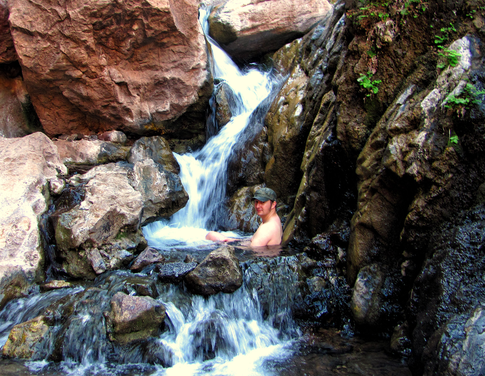 Goldstrike Canyon Las Vegas Hot Springs Adventures in Southern