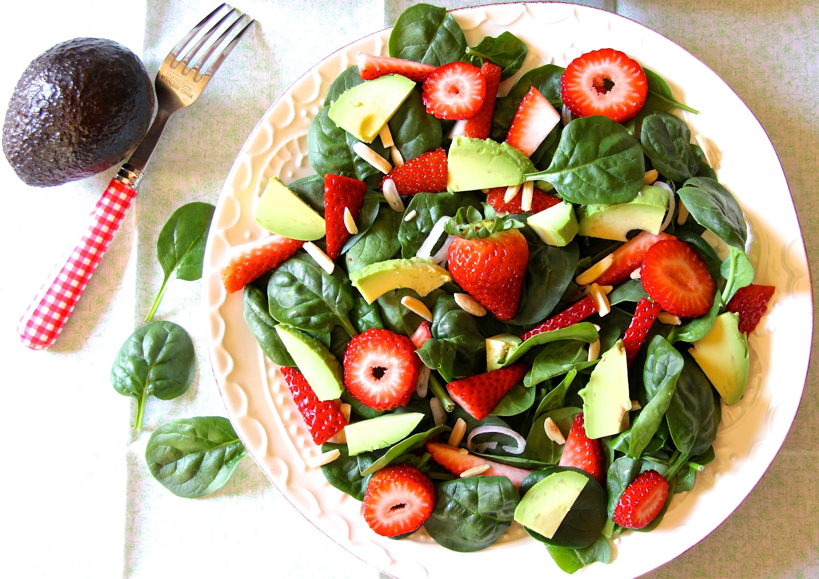 ... magical that happens when you pair strawberries and avocados