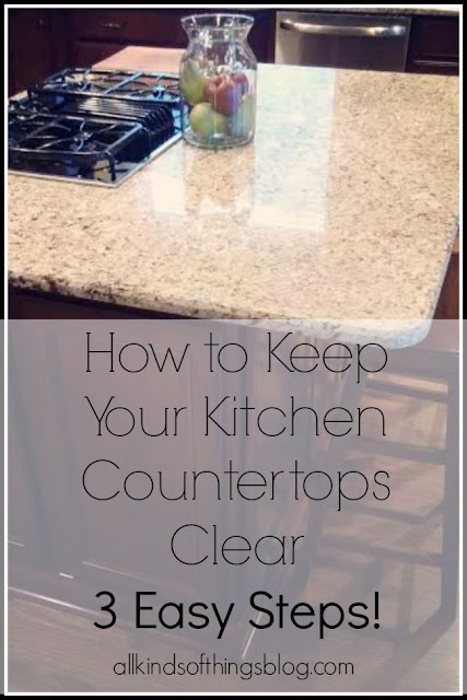 How to Keep Your Kitchen Countertops Clear