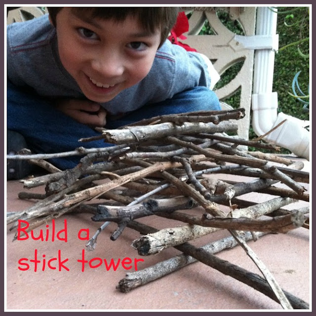 Build a stick tower