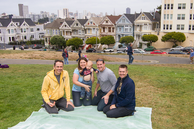 Well At The Very End Of The Full House Theme Song, The Tanner Family Also  Enjoyed A Picnic Lunch Here.