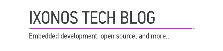 <center>Ixonos Tech Blog</center>