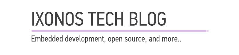 <center>Ixonos Tech Blog</center>