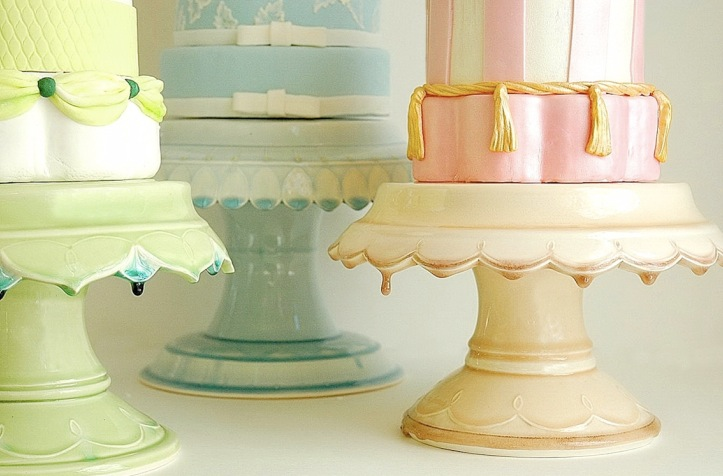 parasol events: Cake Stands - a memento from your wedding day