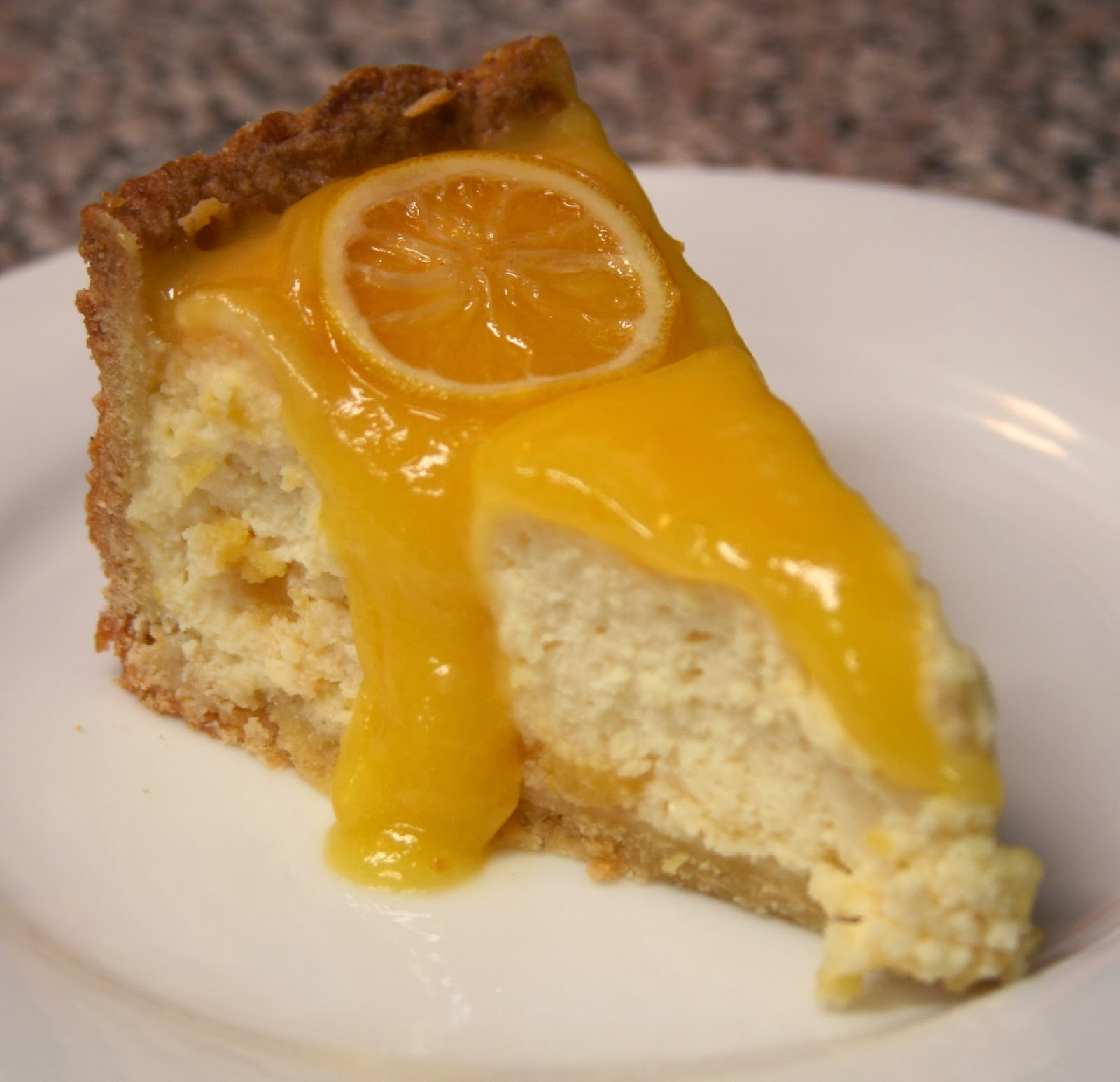 Culturally Confused: Southern Living: Lemon Bar Cheesecake