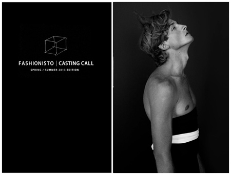 Jacob Crumbley, Cast Images Model, The Fashionisto, New York Fashion Week S/S 2013