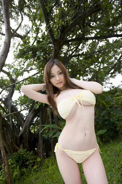 Model Jepang Toge Putih Montok