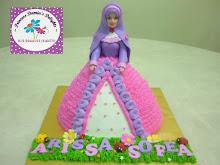 PRINCESS MUSLIMAH CAKE (RM120)