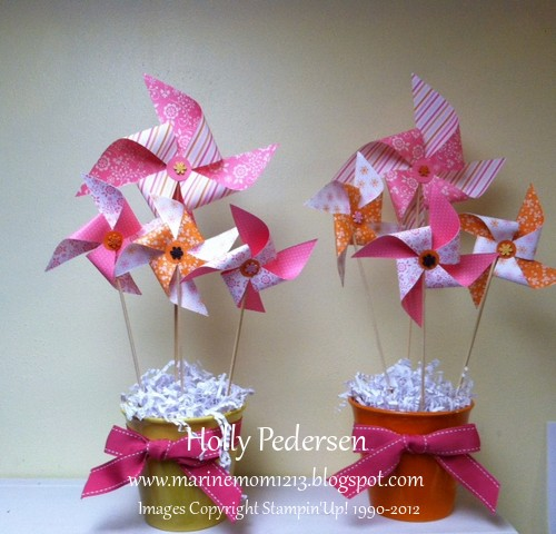 Hollyscrafting sprin fling centerpieces