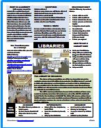 All About Libraries - PDF Worksheet - Download