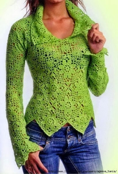 Free Crochet Sweater Patterns To Download : Pullover Sweater Patterns Free Foto Artis - Candydoll
