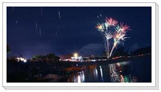 pesta kembang api pergantian tahun