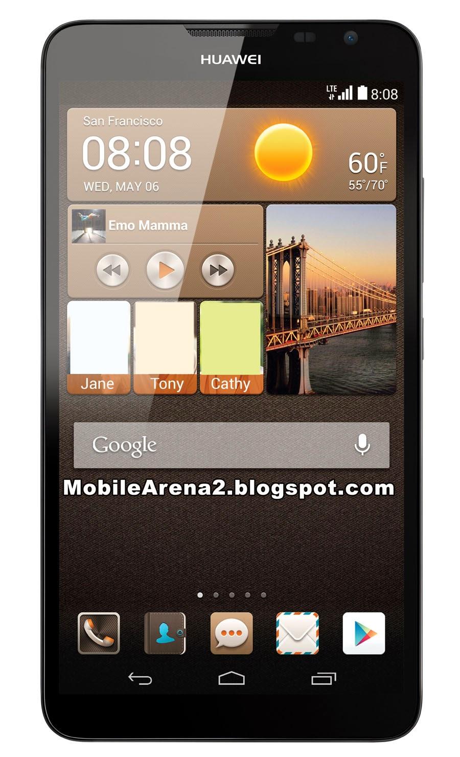 Huawei Ascend Mate2, MobileArena2.blogspto.com