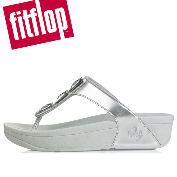 fitflop pietra silver size 5