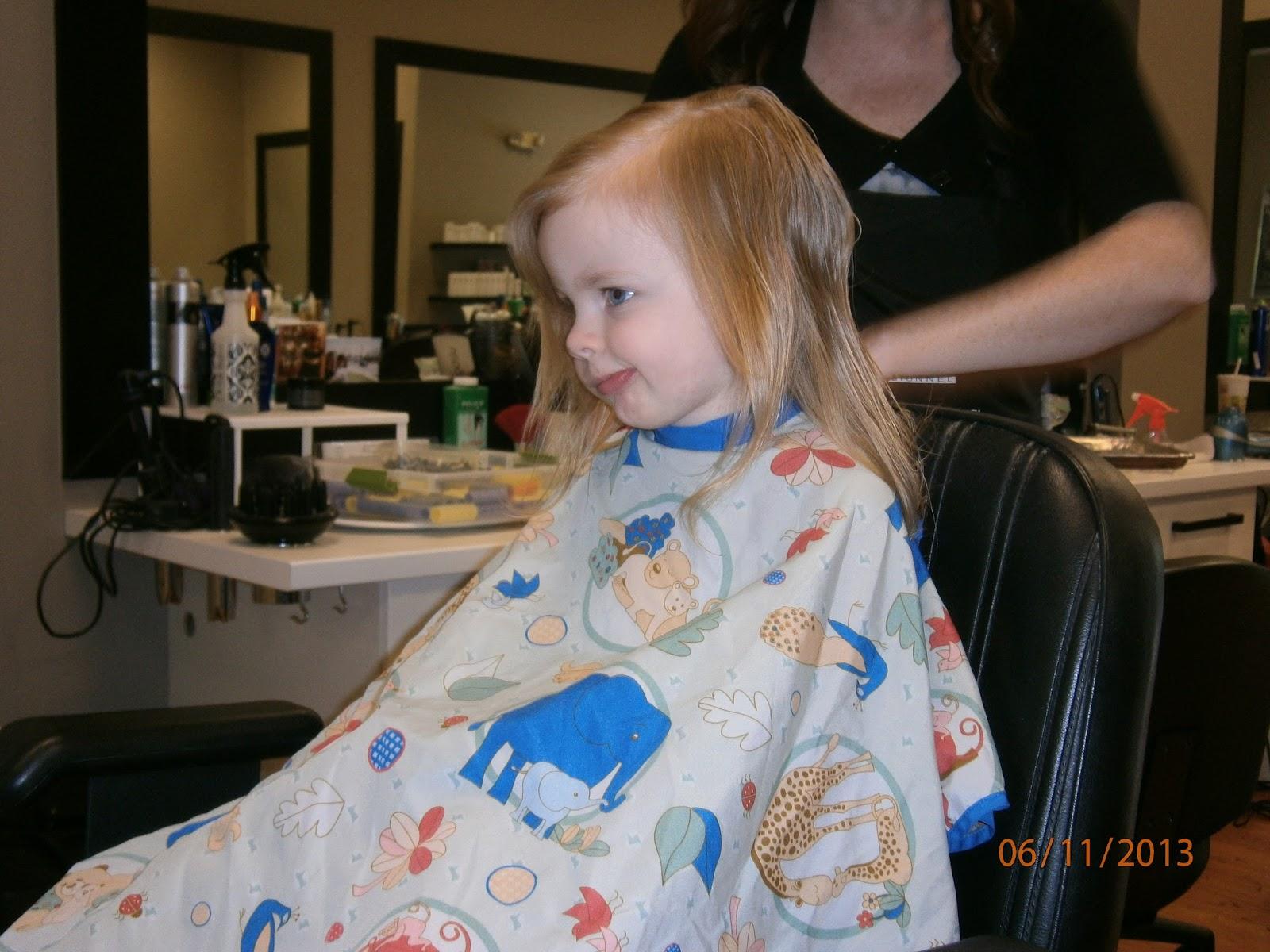 First Haircut The Teachers Wife