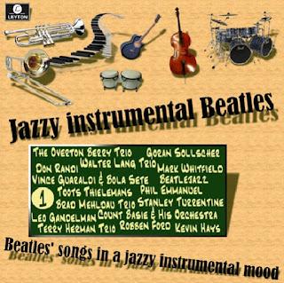 Cd Jazzy Instrumental Beatles - Vol. 1 (2015) V1%2Bfront