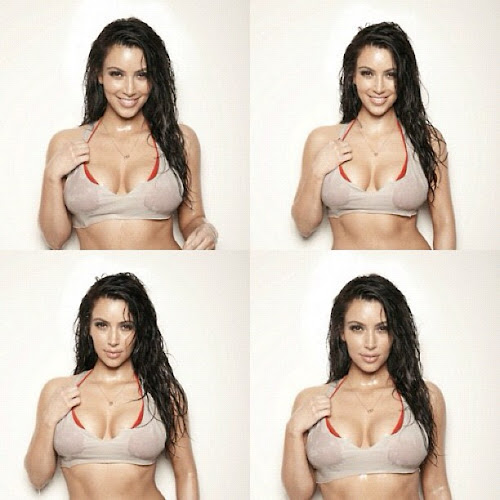 Kim Kardashian on wet And wild shots