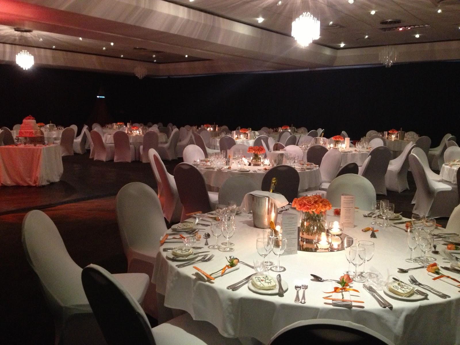 Orange Silver Wedding Weddings Today