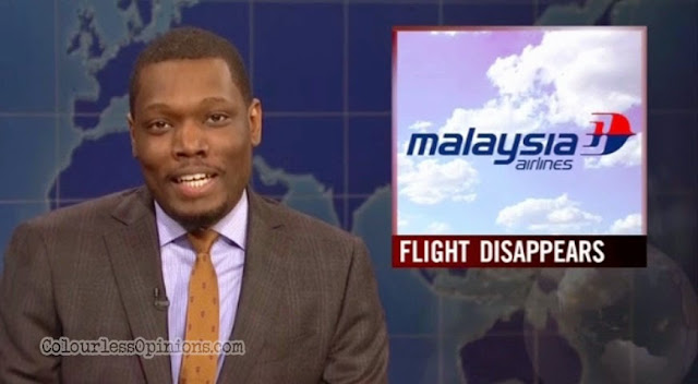 SNL 40 Malaysia Airlines flight michael che weekend update