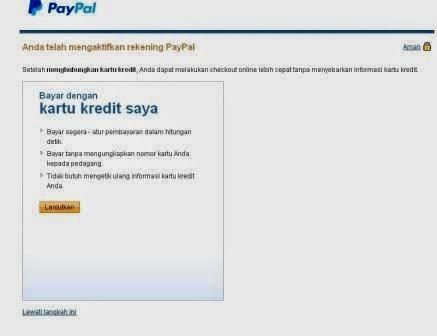 Cara Daftar Dan Membuat Rekening PayPal