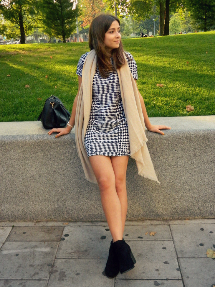 Love From Lisa Fashion | Dogtooth Dress