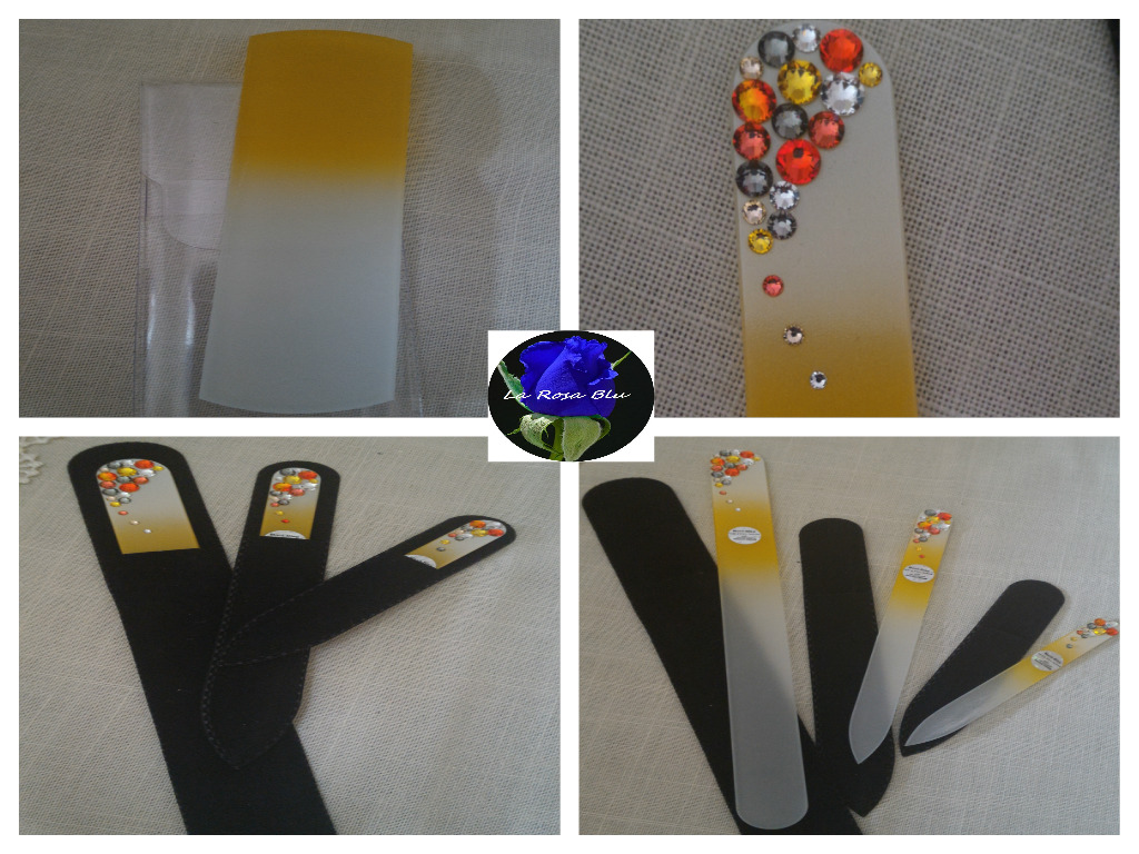 CZECH GLASS NAIL FILES