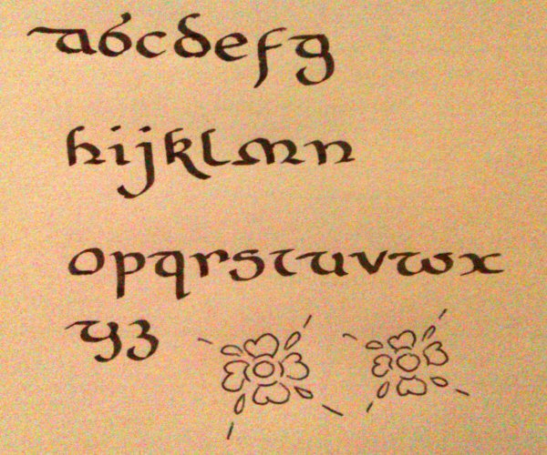 Calligraphy For Beginners Tudor Style Calligraphy