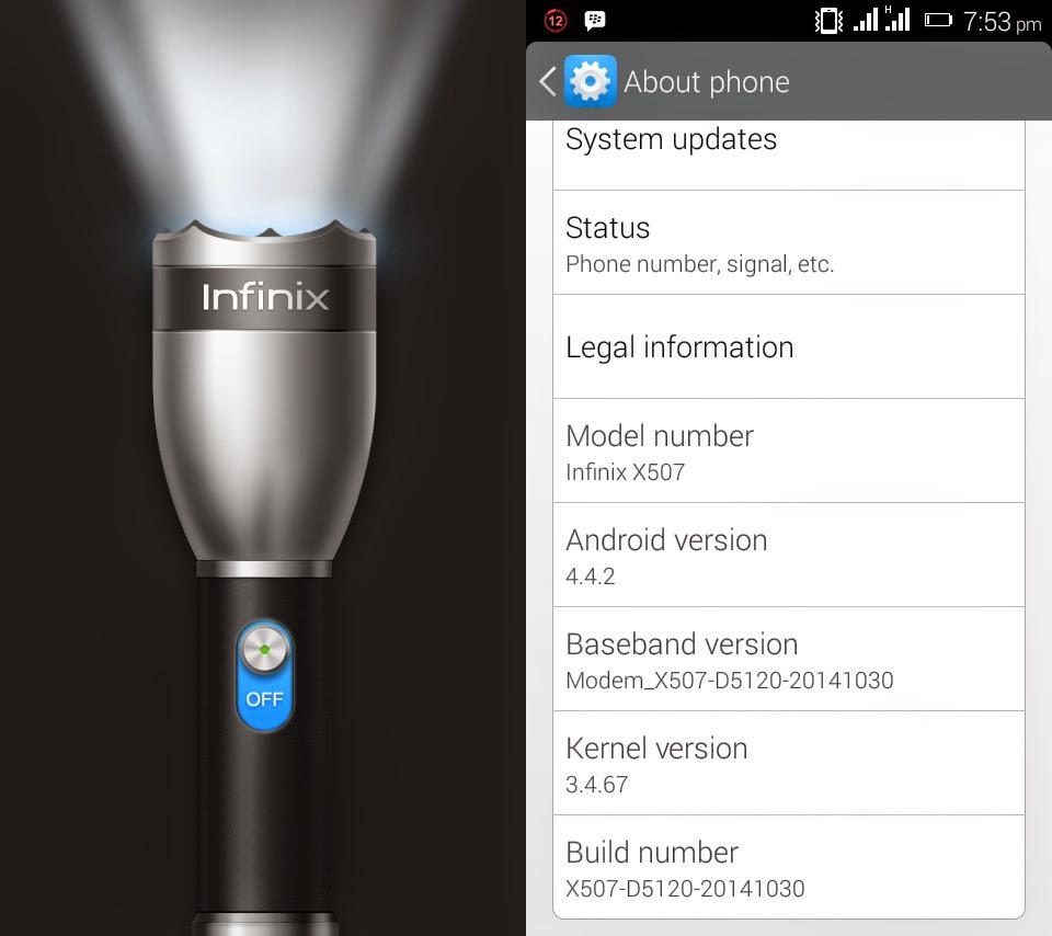 Infinix Phones, Infinix Tablets, Infinix X507