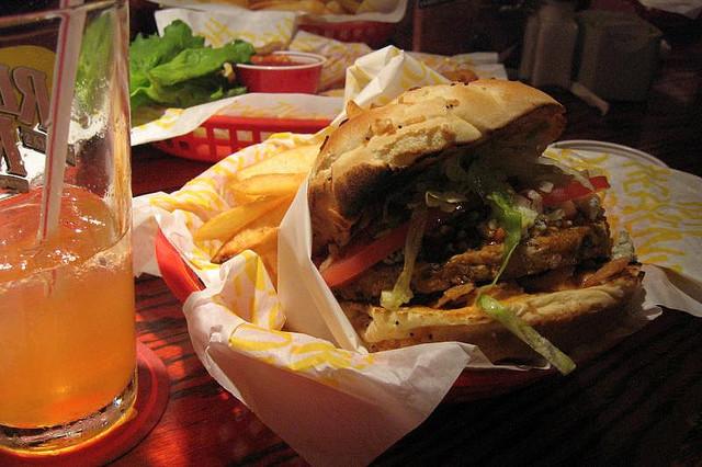 Almost Vegetarian Eating Vegetarian At Burger Restaurants
