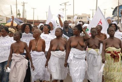 BLACK WOMEN'S NUDE POWER!