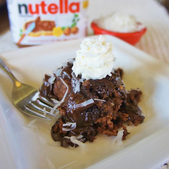 ... Nutella® Pudding Cake from 365 Days of Slow Cooking | Slow Cooker