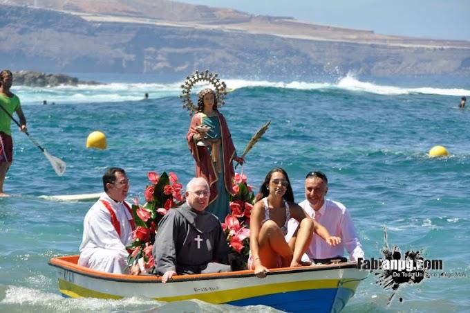 Procesión Marítima Santa Lucía 2012, El Puertillo