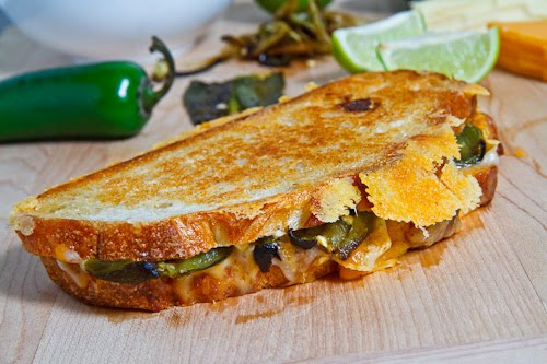 Jalapeno Popper Grilled Cheese Sandwich on Closet Cooking