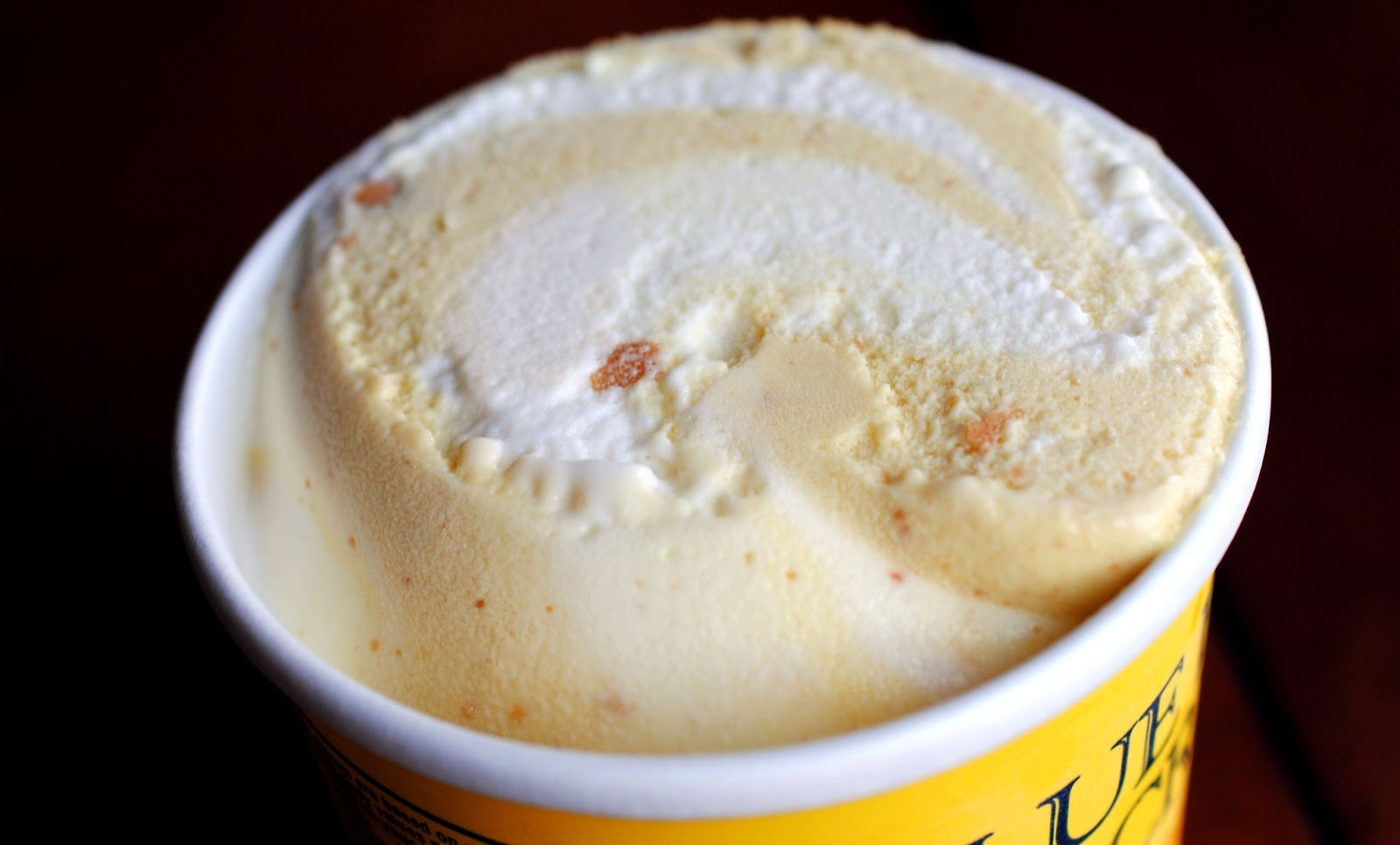 food and ice cream recipes REVIEW Blue Bell Banana Pudding