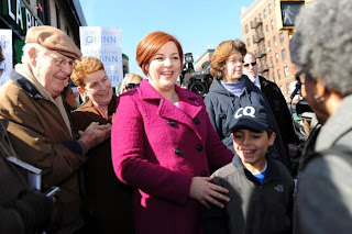 Christine Quinn officially announces mayoral campaign in New York City