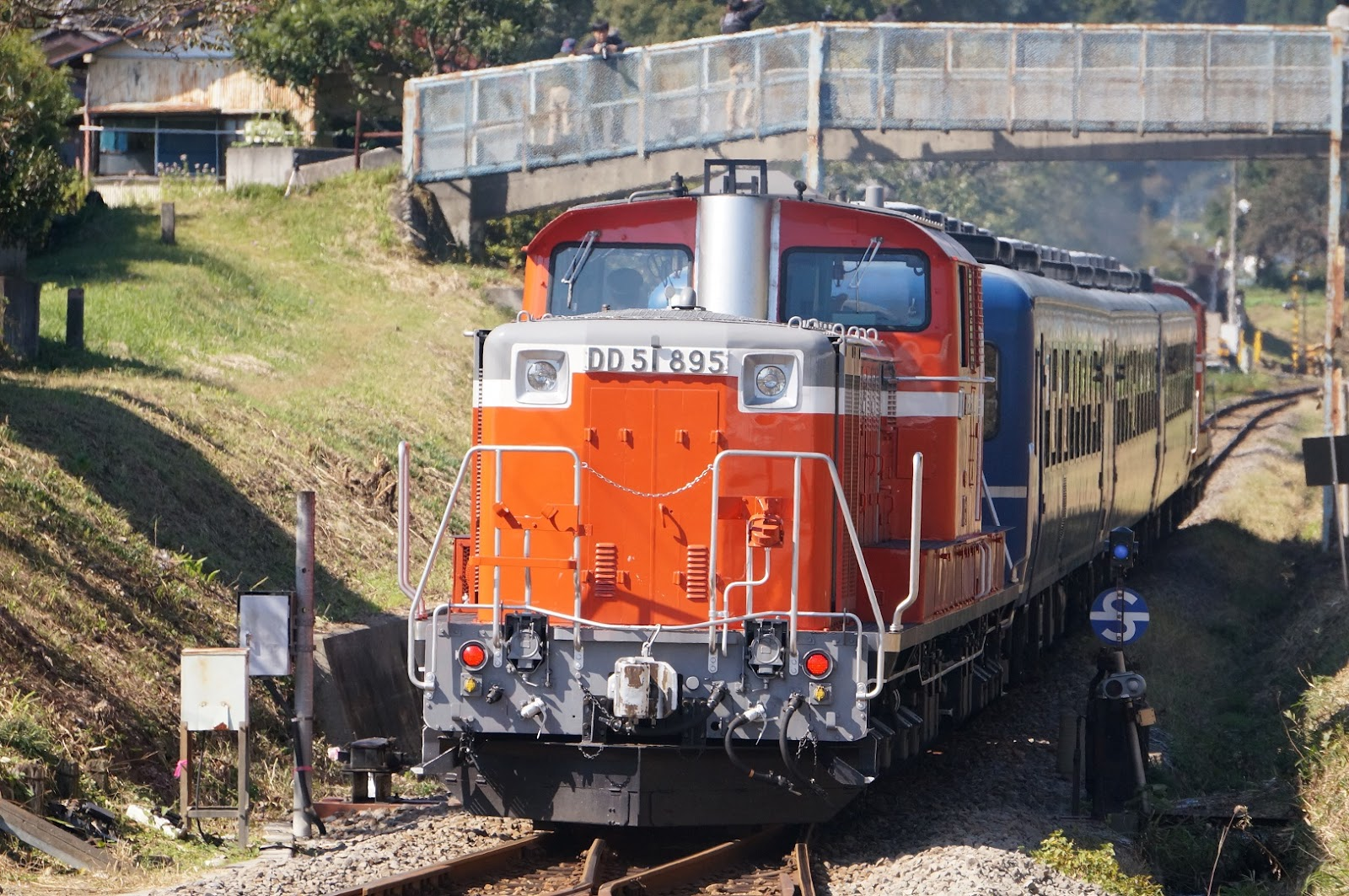 記念列車の八王子側