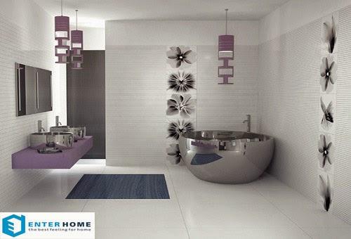 thiết kế nội thất phòng tắm nhà vệ sinh 5