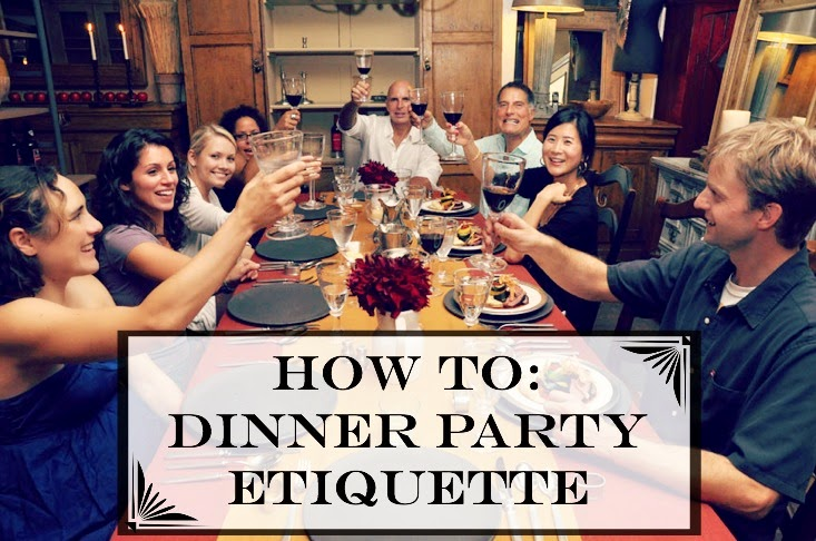 How to be a good dinner party guest