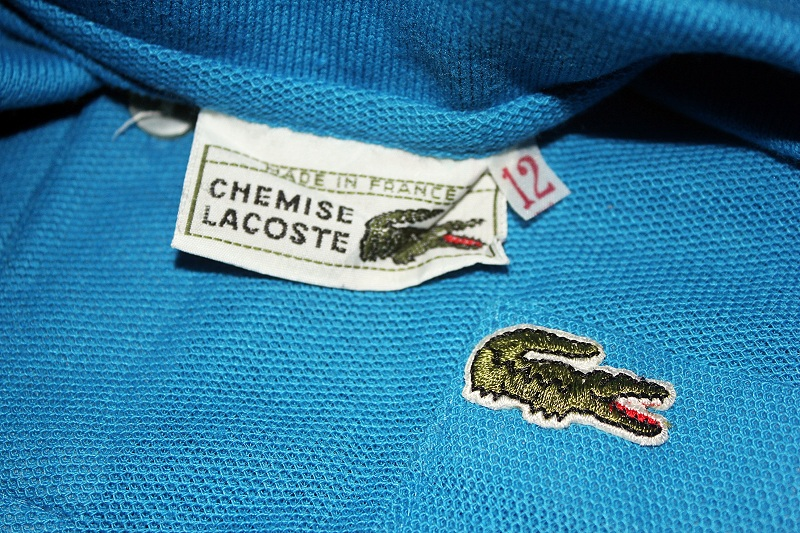 White Trash Vintage Lacoste Polo Shirt Single Pocket Sold