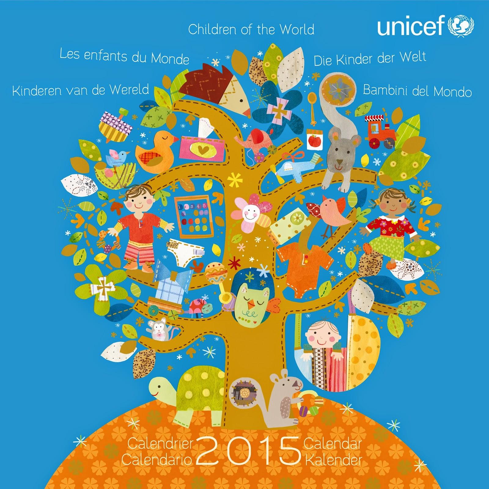 Fabuleux Comité de l'Isère pour l'UNICEF: Calendrier 2015 - Les Enfants du  OU49