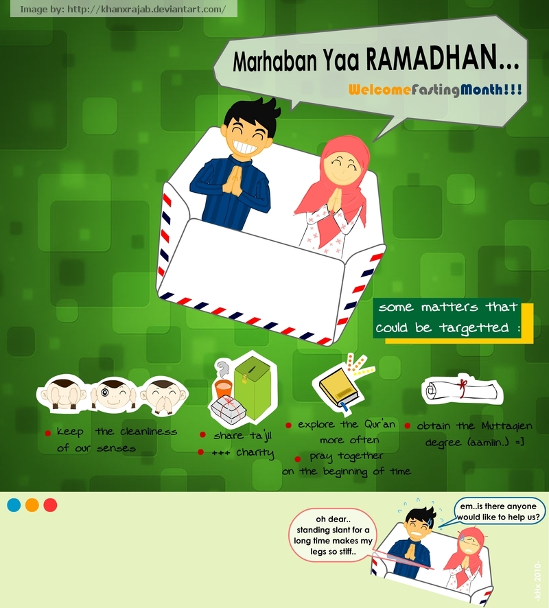 Selamat menunaikan ibadah puasa Ramadhan