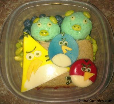 angry birds bento rubbermade