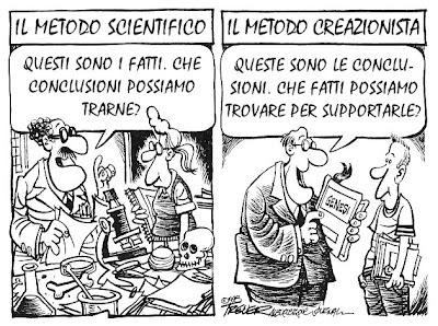 Scienza e creazionismo? Questione di metodo...